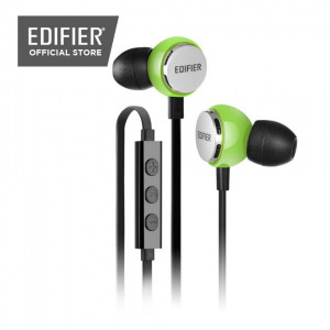 Edifier P293 In-ear Wired Three Button Green Earphones