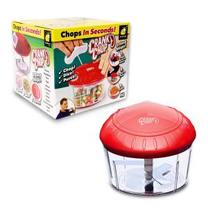 Crank Chop Food Chopper & Processor Mixer