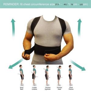 Back Pain Need Help Posture Support Magnet Belt