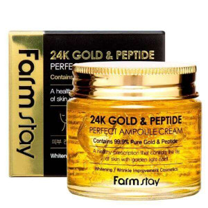 24K Gold and Peptide Perfect Ampoule Cream