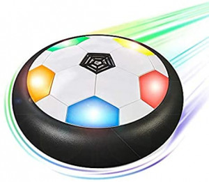 Air Hover Football With Sparkling Lights