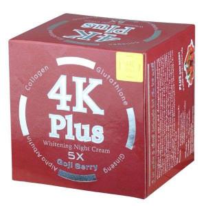 4K Plus Goji Berry Whitening Night Cream