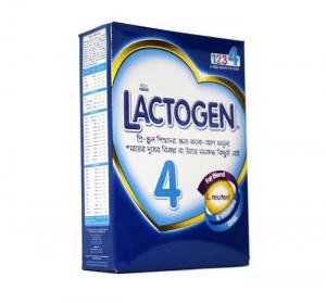 Nestle Lactogen 4 Follow Up Formula (2-5 Years) – 350gm