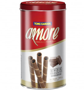 Tong Garden Amore Chocolate Wafer Roll - 300g