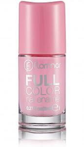 Flormar Full Color Nail Enamel, Bubble Gum FC03 - 8ml
