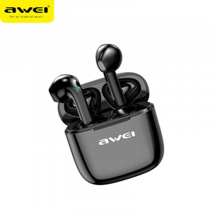 AWEI T26 TWS Earbuds Stereo Sound HiFi Bass Sound Touch Control Earphone