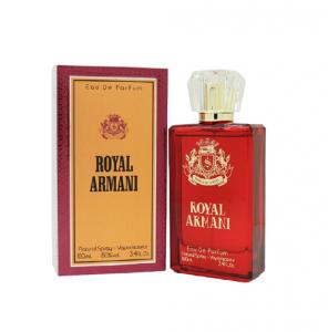 Royal Armani Natural Spray Vaporisateur Eau De Parfum 100ml