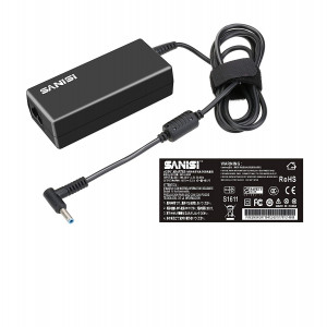 HP 19.5V 3.33A 4.5MM 3.0MM WITH PIN INSIDE 65W Laptop Charger / Adapter