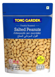 Tong Garden Salted Peanuts Pouch - 400 Gm