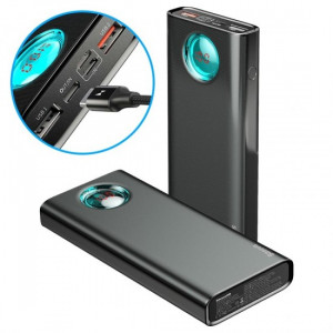 Baseus Amblight Quick Charger Digital Display Power Bank 20000mAh