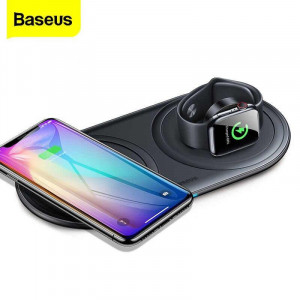 Baseus Planet 2 in 1 Cable Winder Plus Wireless Charger