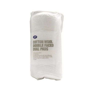 Boots Cotton Wool Double Faced Oval Pad