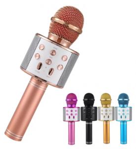Wireless Karaoke Microphone WS - 858 - C: 0216