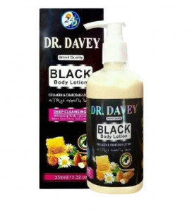 DR DAVEY Black Body Lotion - 350ml