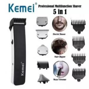 Kemei KM-3590 5 In 1 Professional Hair Clipper And Trimmer