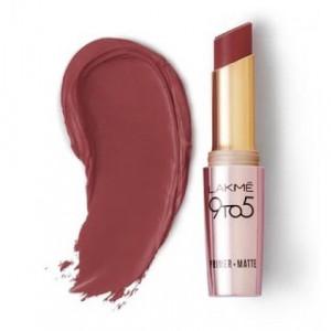 Lakmé 9 To 5 Primer + Matte Lip Color Dusty Pink