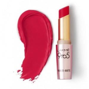Lakmé 9 To 5 Primer + Matte Lip Color Iconic Red