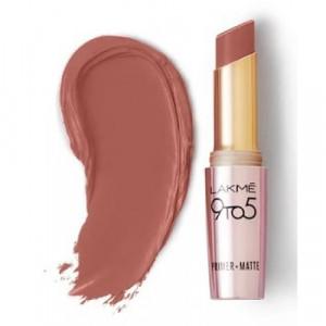 Lakmé 9 To 5 Primer + Matte Lip Color Nude Touch