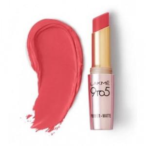 Lakmé 9 To 5 Primer + Matte Lip Color Peachy Affair
