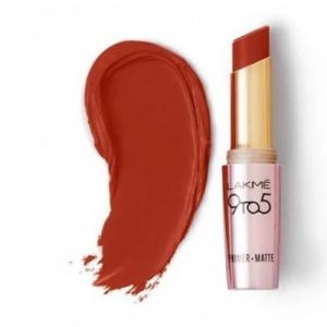 Lakmé 9 To 5 Primer + Matte Lip Color Red Rust