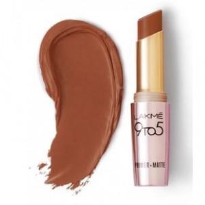 Lakmé 9 To 5 Primer + Matte Lip Color Rustic Brown