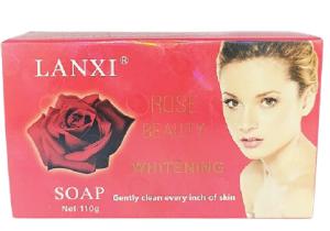 LANXI Rose Beauty Whitening Soap 110g
