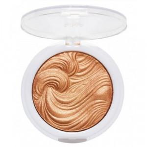 MUA Shimmer Highlighter Powder- Golden Afterglow