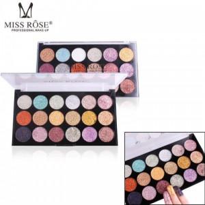 Miss Rose 18 Color Palette Sequin Glitter Eyeshadow