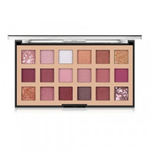 Miss Rose Fashion 18 Color Palette Eyeshadow- Rose Gold