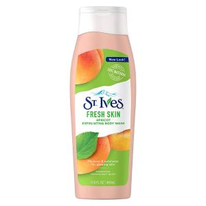 St. Ives Fresh Skin Apricot Exfoliating Body Wash 400ml