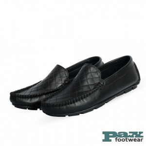 PAX Leathers Loafer Leather Shoes Black for Men