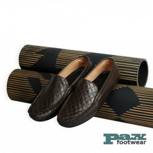 PAX Leathers Loafer Leather Shoe Chocolate for Men
