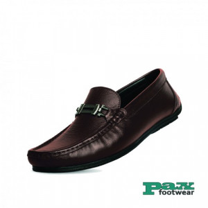 PAX Leathers  Leather Loafer Chocolate for Men