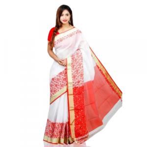 Tangail Half Silk Saree (PR-3035)