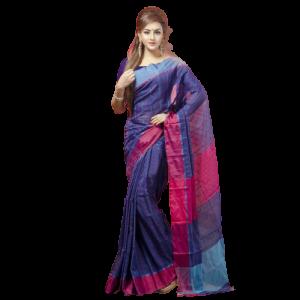 Tangail Half Silk Saree (PS-1017)