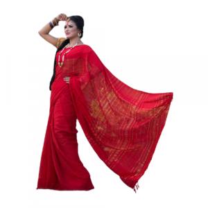 Tangail Jum Silk Saree (PS-1033)