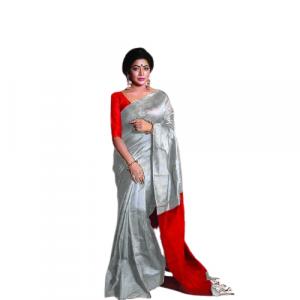 Tangail Half Silk Saree (PS-1049)