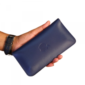 PAX Leathers Mobile Wallet Blue