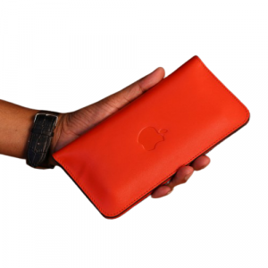 PAX Leathers Mobile Wallet Red