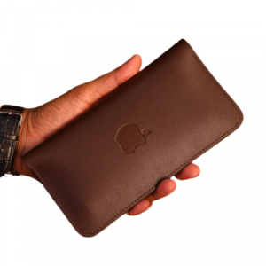 PAX Leathers Leather Mobile Wallet Chocolate