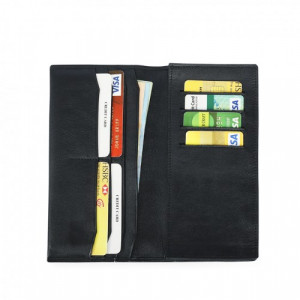 Leather Mobile Wallet 100% Genuine Leather (PW-256)