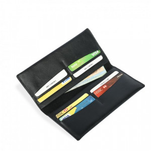 Leather Mobile Wallet 100% Genuine Leather (PW-265)
