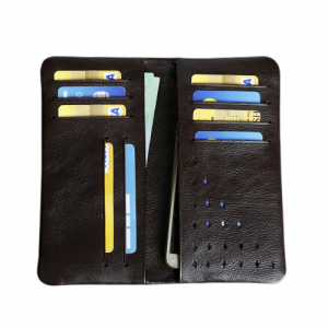 Leather Mobile Wallet 100% Genuine Leather (PW-266)