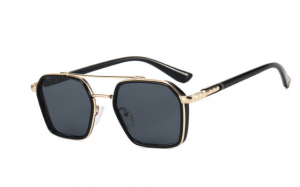 2021 retro metal double beam Rennes  sunglasses for men and women