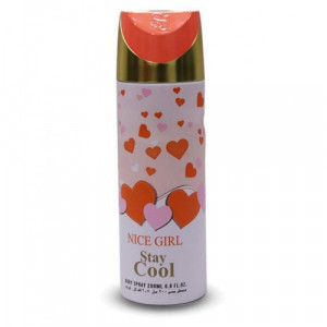 Stay Cool Nice Girl Body Spray 200ml