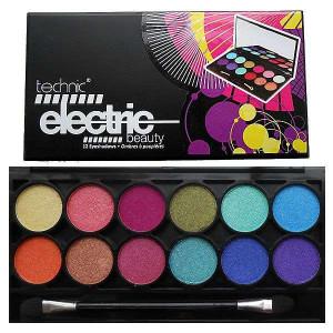 Technic Electric Beauty 12 Eyeshadow Palette