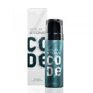 Wild Stone Code Steel Body Perfume For Men 120ml