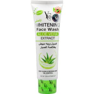 YC Whitening Face Wash with Aloe Vera Extract 100ml Thailand