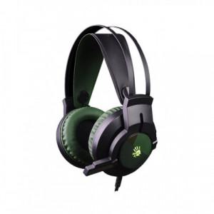 A4 Tech J437 Bloody Glare USB Army Green Gaming Headphone
