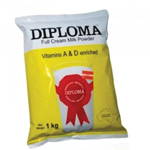 Diploma Full Cream Milk Powder - 1kg